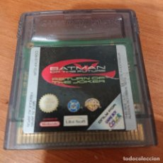 Videojuegos y Consolas: BATMAN OF THE FUTURE GAME BOY COLOR CARTUCHO. Lote 195333698