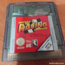 Videojuegos y Consolas: MICKEY'S RACING ADVENTURE GAME BOY COLOR CARTUCHO. Lote 195333762