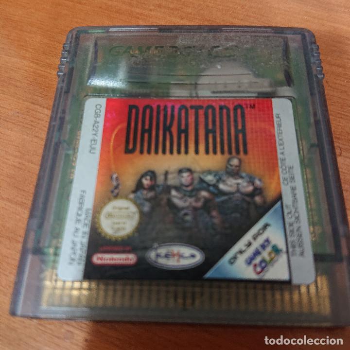 DAIKATANA GAME BOY COLOR CARTUCHO (Juguetes - Videojuegos y Consolas - Nintendo - GameBoy Color)