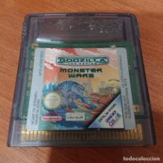 Videojuegos y Consolas: GODZILLA MONSTER WARS GAME BOY COLOR CARTUCHO. Lote 195333997