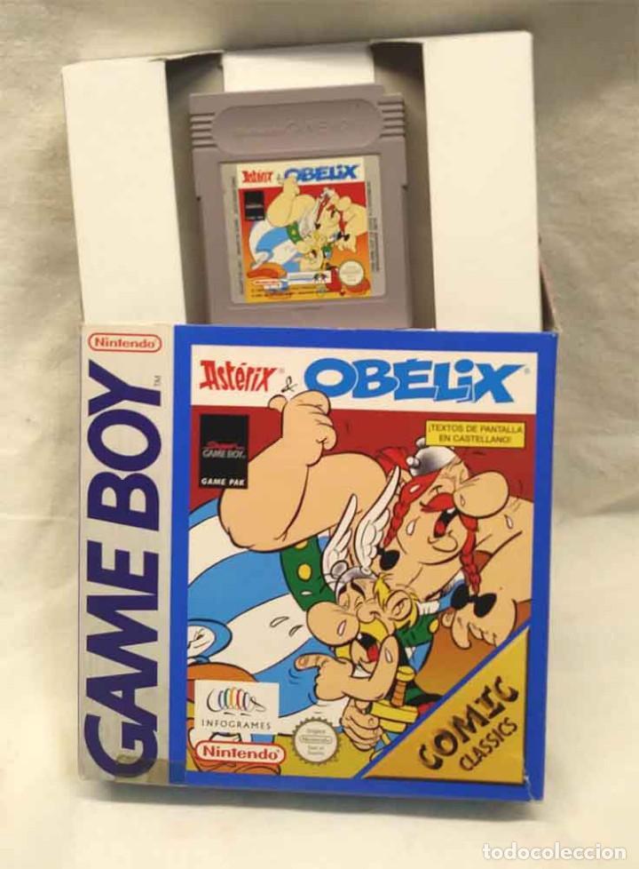 OBELIX NINTENDO GAME BOY COLOR (Juguetes - Videojuegos y Consolas - Nintendo - GameBoy Color)