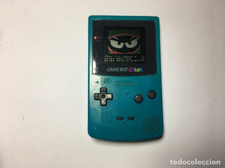 CONSOLA GAME BOY COLOR AZUL TURQUESA (Juguetes - Videojuegos y Consolas - Nintendo - GameBoy Color)