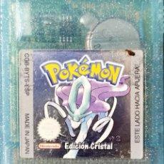 Videojuegos y Consolas: POKEMON EDICION CRISTAL - JUEGO NINTENDO GAMEBOY COLOR - CGB-BYTS-ESP. Lote 198307172