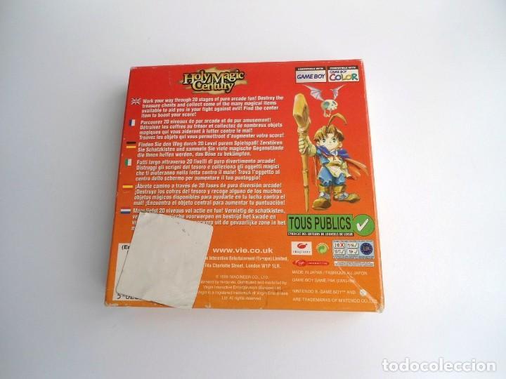 Videojuegos y Consolas: HOLY MAGIC CENTURY - NINTENDO GAMEBOY COLOR 1999 - JUEGO COMPLETO CON INSTRUCCIONES (GAME BOY) - Foto 5 - 199667486