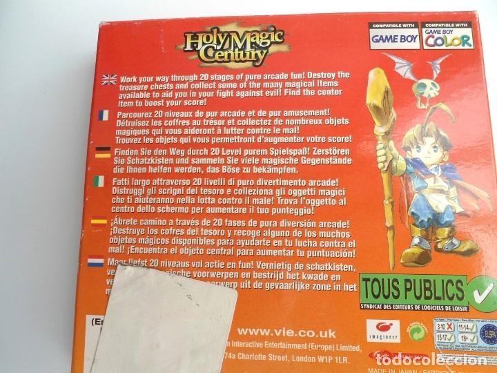 Videojuegos y Consolas: HOLY MAGIC CENTURY - NINTENDO GAMEBOY COLOR 1999 - JUEGO COMPLETO CON INSTRUCCIONES (GAME BOY) - Foto 6 - 199667486