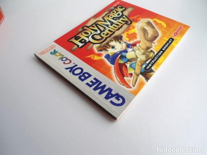 Videojuegos y Consolas: HOLY MAGIC CENTURY - NINTENDO GAMEBOY COLOR 1999 - JUEGO COMPLETO CON INSTRUCCIONES (GAME BOY) - Foto 10 - 199667486