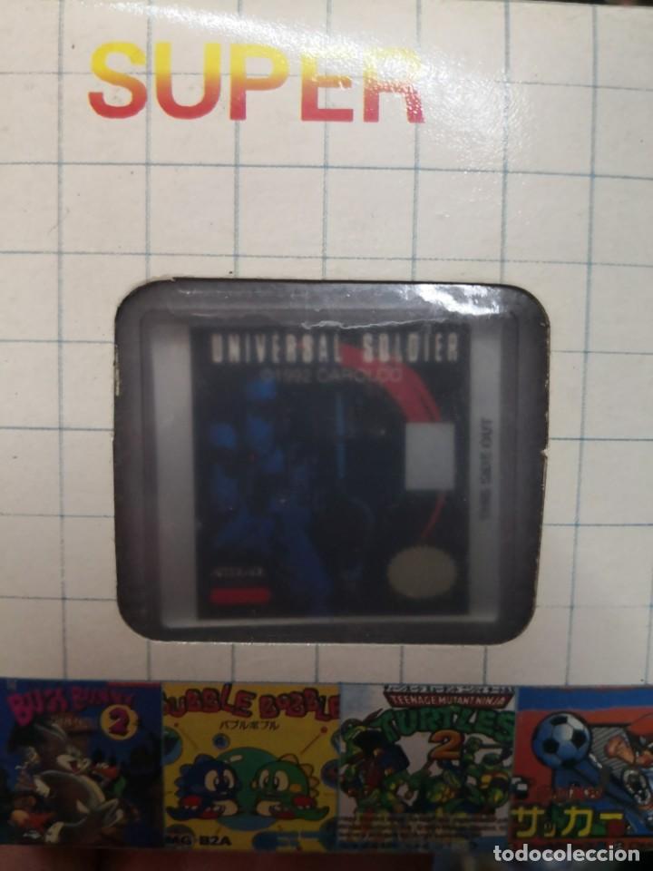 CARTUCHO UNIVERSAL SOLDIER JUEGO CLON CLONICO NINTENDO GAME BOY (Juguetes - Videojuegos y Consolas - Nintendo - GameBoy Color)