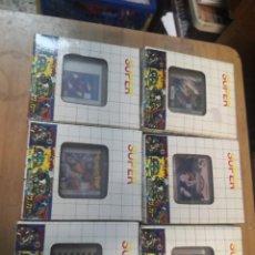 Videojuegos y Consolas: 6 CARTUCHOS COLECCIONABLES JUEGOS CLON CLONICO NINTENDO GAME BOY . Lote 199797170