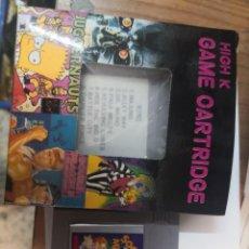 Videojuegos y Consolas: CARTUCHO COLECCIONABLE JUEGO 8 EN 1 + SOCCER MANIA CLONICO NINTENDO GAME BOY . Lote 199800363