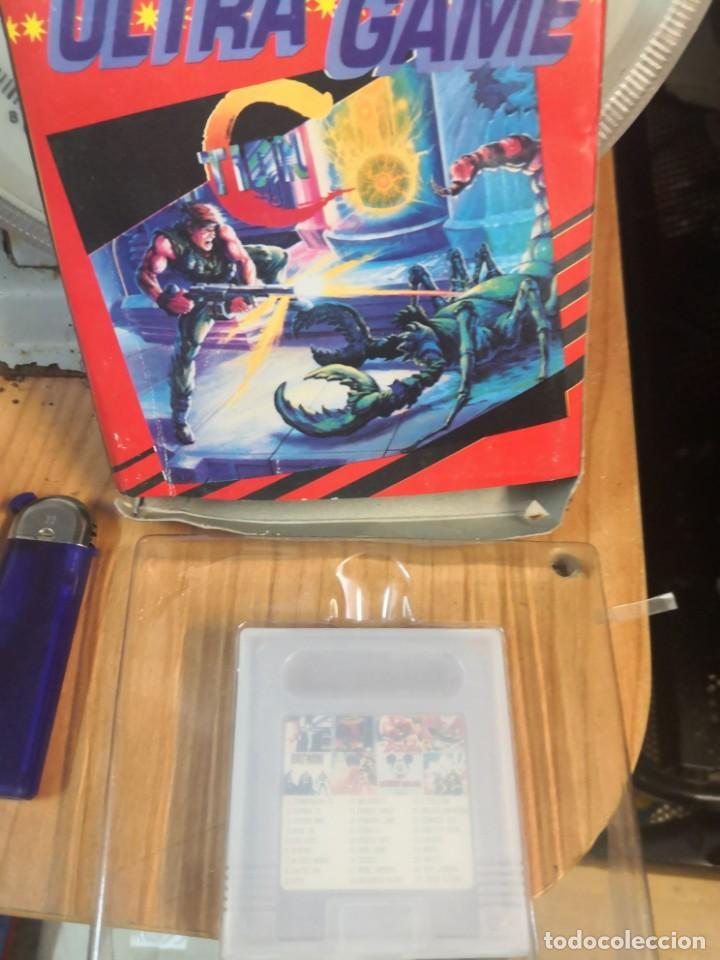 CARTUCHO COLECCIONABLE JUEGO 27 EN 1 ULTRA GAME CLONICO NINTENDO GAME BOY (Juguetes - Videojuegos y Consolas - Nintendo - GameBoy Color)
