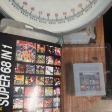 Videojuegos y Consolas: CARTUCHO COLECCIONABLE JUEGO 68 EN 1 ULTRA GAME CLONICO NINTENDO GAME BOY . Lote 199803190