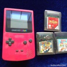 Videojuegos y Consolas: GAMEBOY COLOR 3 JUEGOS. Lote 199843602