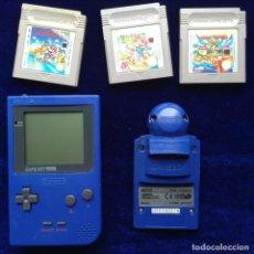 Videojuegos y Consolas: GAMEBOY COLOR 3 JUEGOS Y CÁMARA. Lote 199908067
