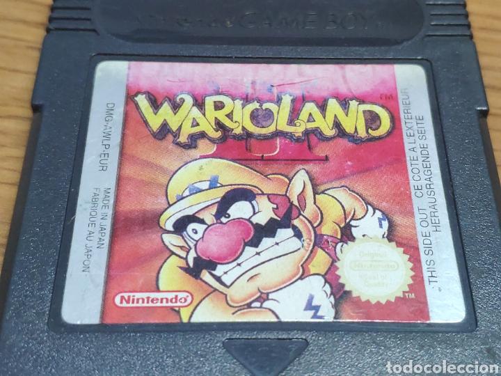 Videojuegos y Consolas: Juego Gameboy color warioland II 2 cartucho negro - Foto 2 - 201543002