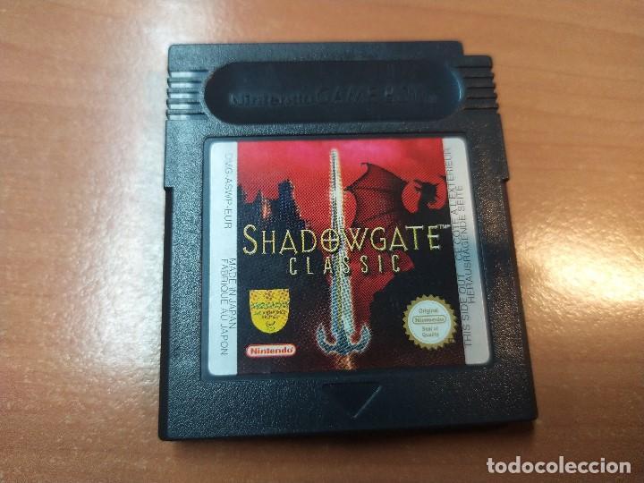 08-00350 - GAME BOY COLOR - SHADOWGATE CLASIC (Juguetes - Videojuegos y Consolas - Nintendo - GameBoy Color)