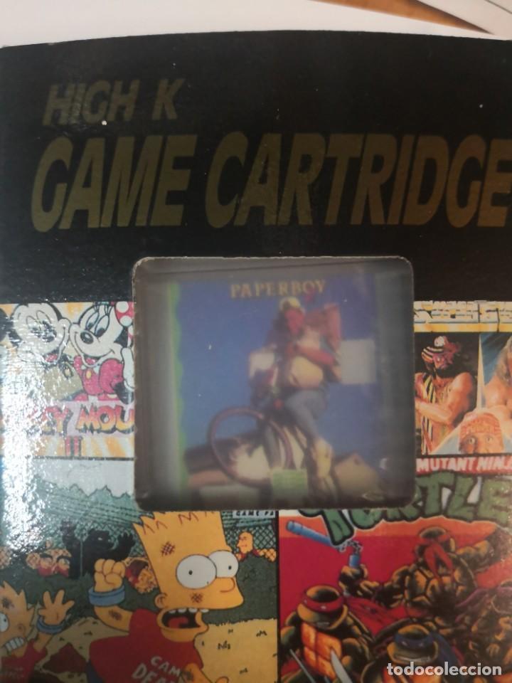 CARTUCHO COLECCIONABLE JUEGO PAPERBOY CLON CLONICO NINTENDO GAME BOY (Juguetes - Videojuegos y Consolas - Nintendo - GameBoy Color)