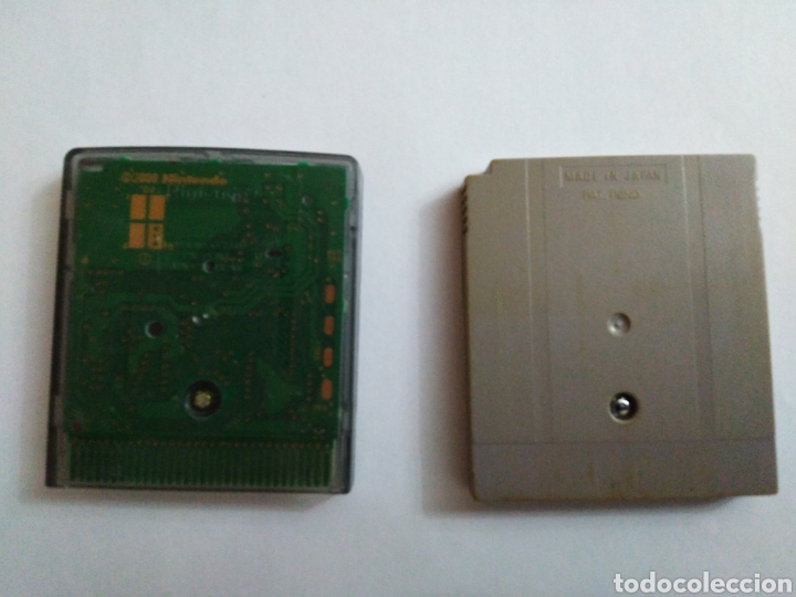 Videojuegos y Consolas: Lote de 2 juegos ( game boy color y Nintendo game boy ) - Foto 2 - 236108310
