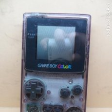 Videojuegos y Consolas: CONSOLA GAMEBOY COLOR ATOMIC PURPLE. Lote 205017793