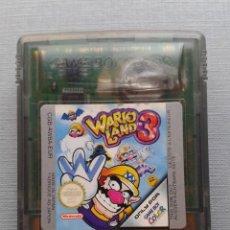 Videojuegos y Consolas: NINTENDO GAME BOY COLOR GBC WARIO LAND 3 PAL EUR R11011. Lote 205261766