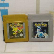 Videojuegos y Consolas: POKEMON EDICION PLATA Y EDICION ORO, GAME BOY COLOR DE NINTENDO. Lote 205690808