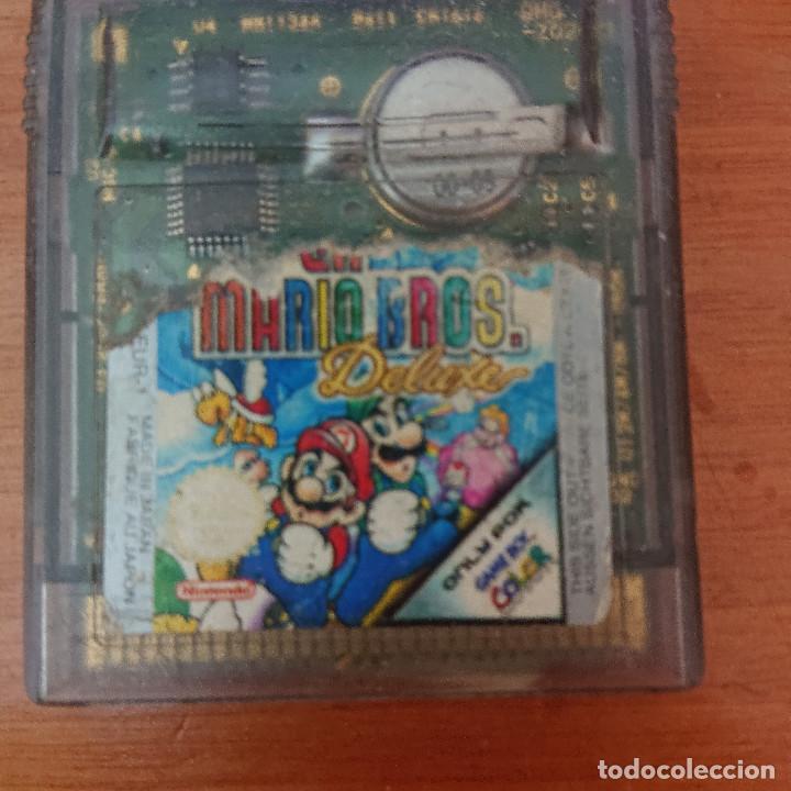 MARIO BROS. DELUXE GAME BOY COLOR CARTUCHO (Juguetes - Videojuegos y Consolas - Nintendo - GameBoy Color)