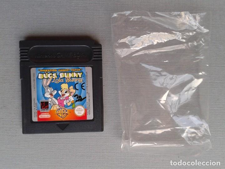 Videojuegos y Consolas: GAMEBOY COLOR GBC BUGS BUNNY & LOLA BUNNY COMPLETO CAJA Y MANUAL BOXED CIB PAL R11042 - Foto 3 - 205801250