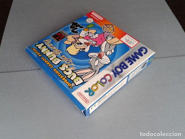 Videojuegos y Consolas: GAMEBOY COLOR GBC BUGS BUNNY & LOLA BUNNY COMPLETO CAJA Y MANUAL BOXED CIB PAL R11042 - Foto 4 - 205801250