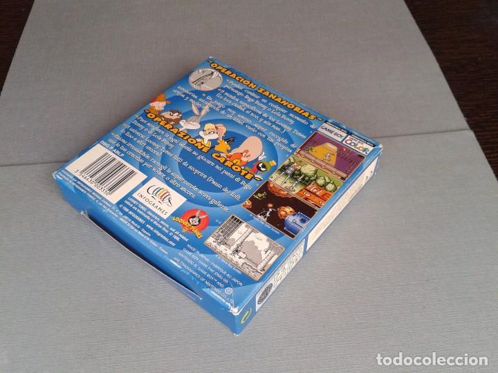 Videojuegos y Consolas: GAMEBOY COLOR GBC BUGS BUNNY & LOLA BUNNY COMPLETO CAJA Y MANUAL BOXED CIB PAL R11042 - Foto 6 - 205801250