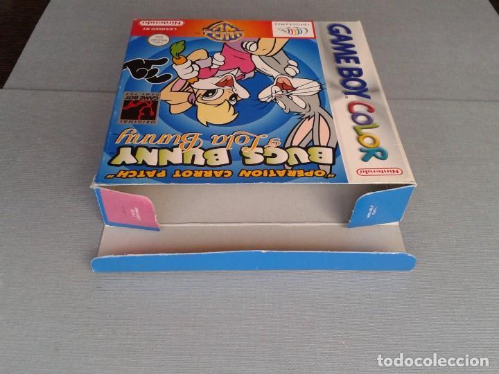 Videojuegos y Consolas: GAMEBOY COLOR GBC BUGS BUNNY & LOLA BUNNY COMPLETO CAJA Y MANUAL BOXED CIB PAL R11042 - Foto 8 - 205801250