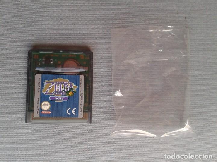 Videojuegos y Consolas: GAMEBOY COLOR GBC LEGEND OF ZELDA ORACLE AGES COMPLETO CAJA MANUAL BOXED CIB PAL R11043 - Foto 2 - 205801475