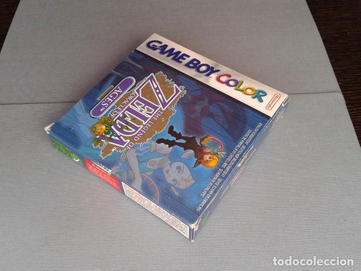 Videojuegos y Consolas: GAMEBOY COLOR GBC LEGEND OF ZELDA ORACLE AGES COMPLETO CAJA MANUAL BOXED CIB PAL R11043 - Foto 5 - 205801475