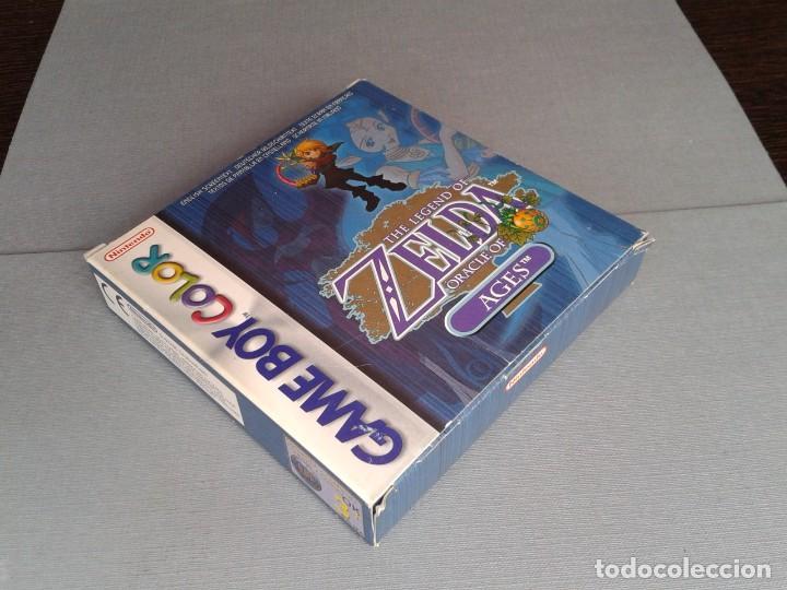 Videojuegos y Consolas: GAMEBOY COLOR GBC LEGEND OF ZELDA ORACLE AGES COMPLETO CAJA MANUAL BOXED CIB PAL R11043 - Foto 6 - 205801475
