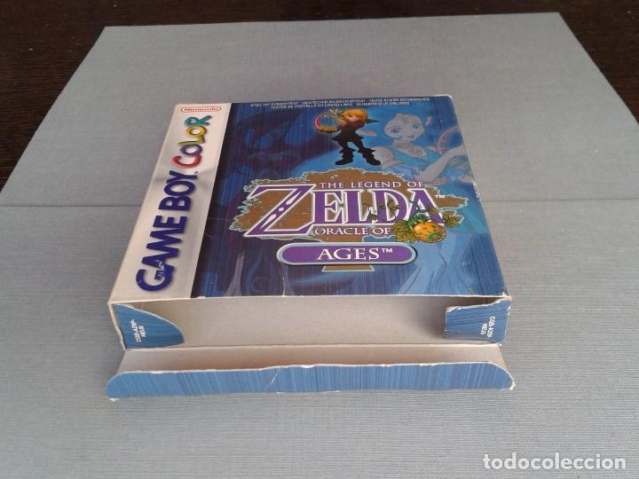 Videojuegos y Consolas: GAMEBOY COLOR GBC LEGEND OF ZELDA ORACLE AGES COMPLETO CAJA MANUAL BOXED CIB PAL R11043 - Foto 9 - 205801475
