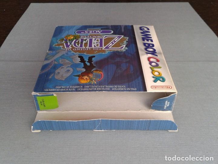 Videojuegos y Consolas: GAMEBOY COLOR GBC LEGEND OF ZELDA ORACLE AGES COMPLETO CAJA MANUAL BOXED CIB PAL R11043 - Foto 10 - 205801475