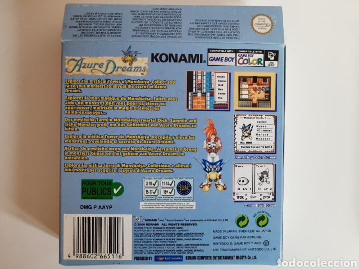 Videojuegos y Consolas: Azure Dreams Nintendo GAMEBOY COLOR - Foto 2 - 206185056