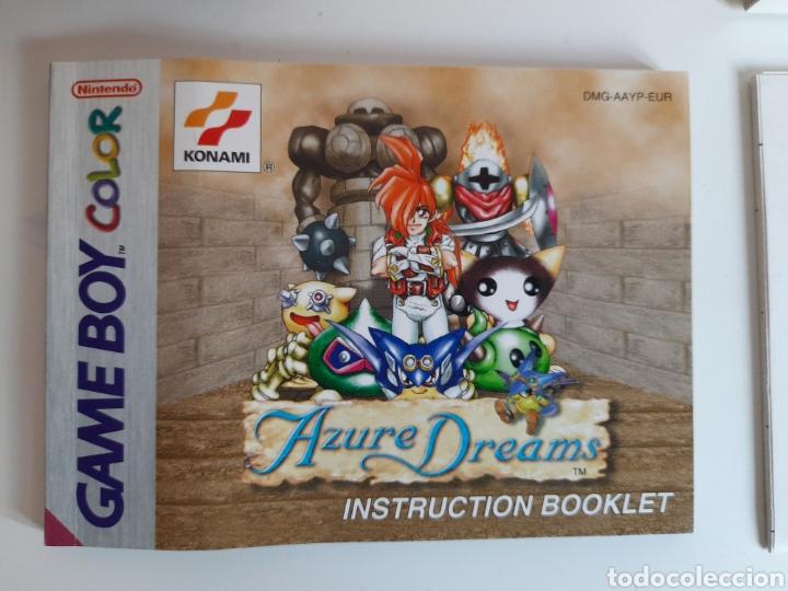 Videojuegos y Consolas: Azure Dreams Nintendo GAMEBOY COLOR - Foto 7 - 206185056