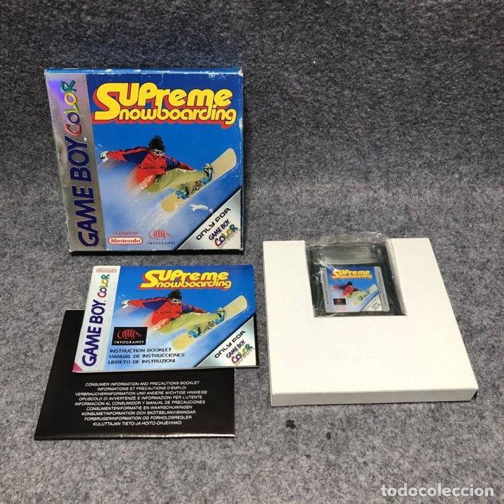 SUPREME SNOWBOARDING NINTENDO GAME BOY COLOR GBC (Juguetes - Videojuegos y Consolas - Nintendo - GameBoy Color)