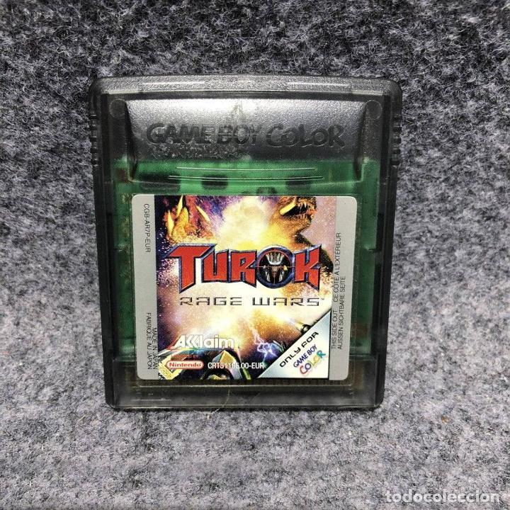 TUROK RAGE WARS CARTUCHO NINTENDO GAME BOY COLOR GBC (Juguetes - Videojuegos y Consolas - Nintendo - GameBoy Color)