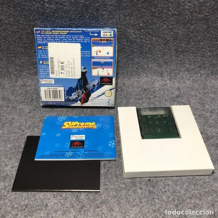 Videojuegos y Consolas: SUPREME SNOWBOARDING NINTENDO GAME BOY COLOR GBC - Foto 2 - 206293193
