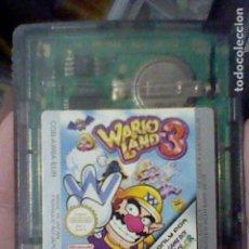 Videojuegos y Consolas: WARIO LAND 3 GBC GAMEBOY COLOR BOY SOLO CARTUCHO FUNCIONANDO. Lote 206464006