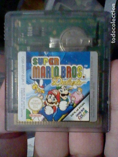 SUPER MARIO BROS DELUXE GBC GAMEBOY COLOR BOY SOLO CARTUCHO FUNCIONANDO (Juguetes - Videojuegos y Consolas - Nintendo - GameBoy Color)