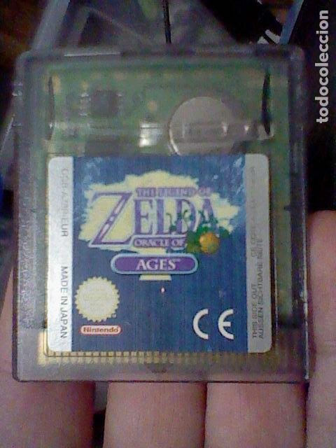 ZELDA ORACLE AGES GBC GAMEBOY COLOR BOY SOLO CARTUCHO FUNCIONANDO (Juguetes - Videojuegos y Consolas - Nintendo - GameBoy Color)