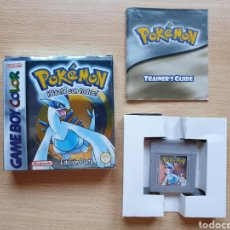 Videogiochi e Consoli: POKEMON PLATA COMPLETO GAME BOY COLOR (MUY BUEN ESTADO, NO PRECINTADO). Lote 207195512