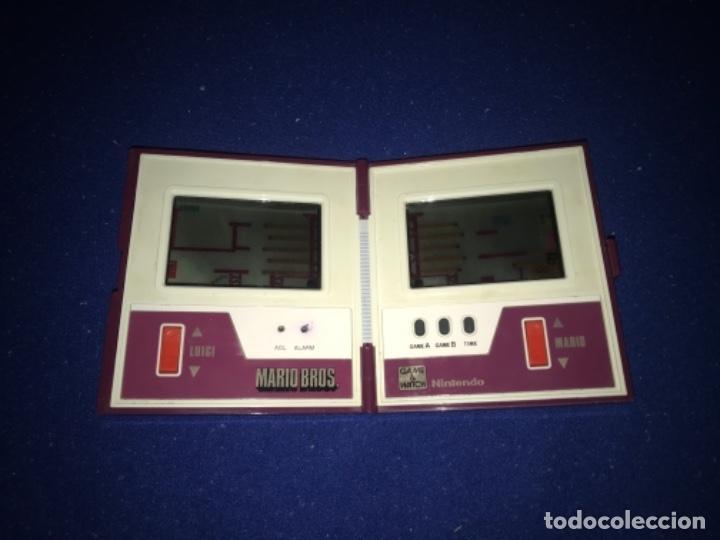 Videojuegos y Consolas: 1983 game watch nintendo mario bros. multi screen funciona perfecta imagen y sonido. 1983 - Foto 3 - 207416690