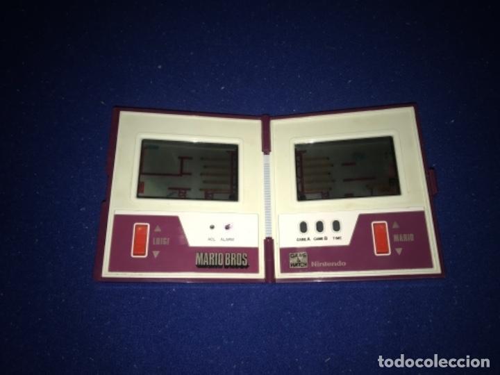 Videojuegos y Consolas: 1983 game watch nintendo mario bros. multi screen funciona perfecta imagen y sonido. 1983 - Foto 4 - 207416690