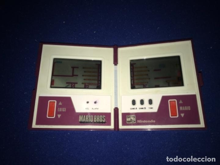 Videojuegos y Consolas: 1983 game watch nintendo mario bros. multi screen funciona perfecta imagen y sonido. 1983 - Foto 5 - 207416690