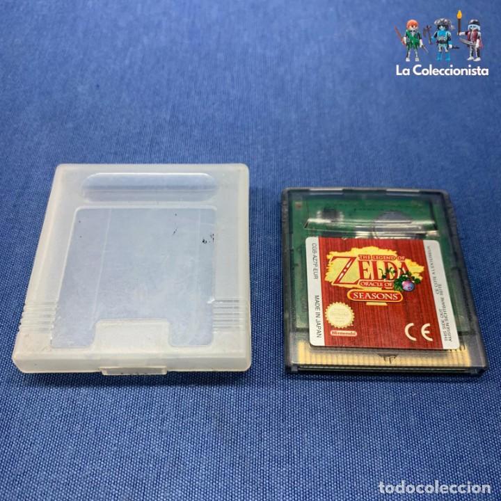 VIDEOJUEGO - NINTENDO GAME BOY COLOR - THE LEGEND OF ZELDA ORACLE OF SEASONS (Juguetes - Videojuegos y Consolas - Nintendo - GameBoy Color)
