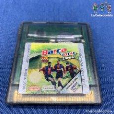 Videojuegos y Consolas: VIDEOJUEGO - NINTENDO GAME BOY COLOR - BARÇA TOTAL 2000. Lote 210005130