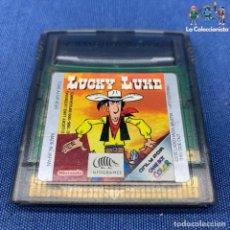 Videojuegos y Consolas: VIDEOJUEGO - NINTENDO GAME BOY COLOR - LUCKY LUKE. Lote 210005666