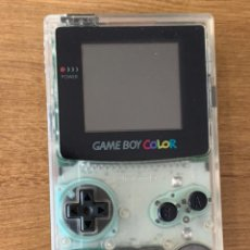 Videojuegos y Consolas: GAME BOY COLOR TRANSPARENTE BLANCA EXCLUSIVA DE JAPÓN. Lote 210238286